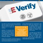 E-Verify Participation Poster English Version